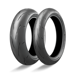 SET 120/200-55 TIRES BRIDGESTONE BATTLAX R11