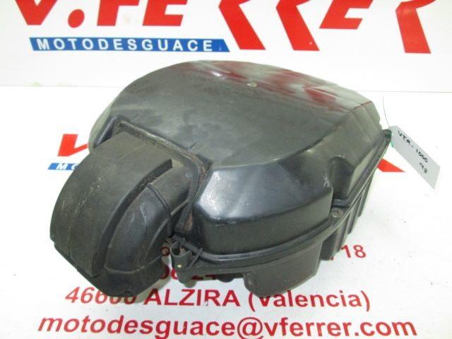 AIR FILTER BOX of scrapping HONDA VTR 1000 1998