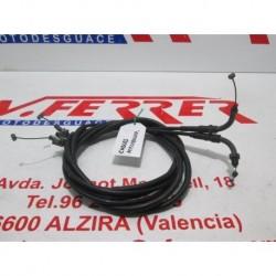 CABLES ACELERADOR de repuesto de una moto HONDA SPAZIO CN250G 1990