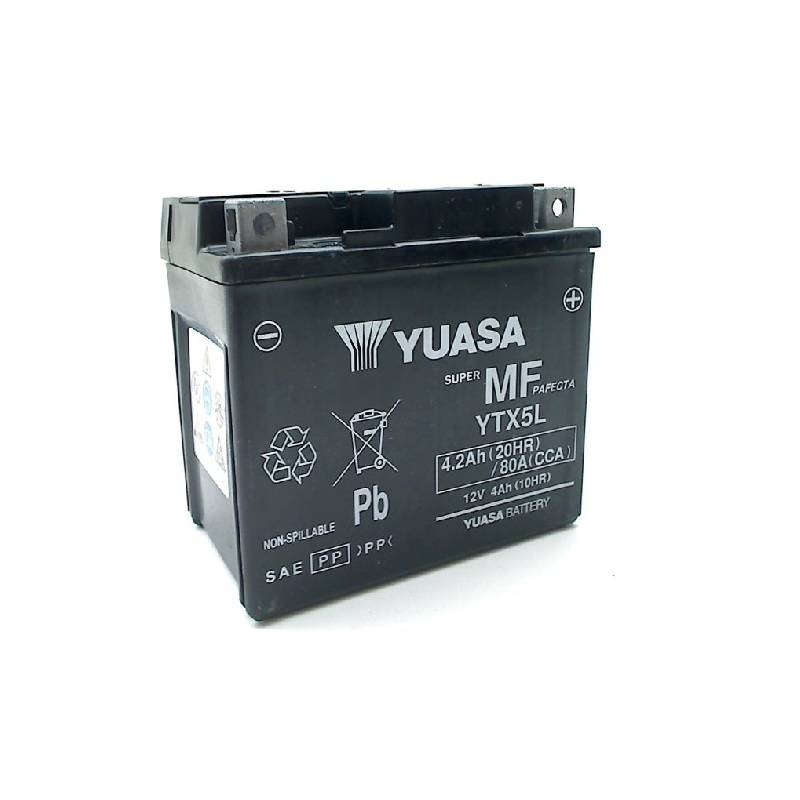 YTX5L-BS YUASA 12V 4Ah