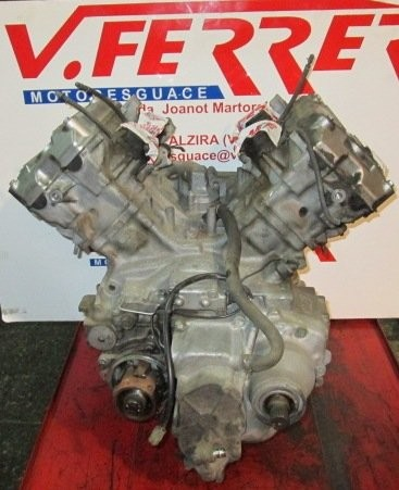 ENGINE (FOR CUTTING) scrapping a motorcycle HONDA PAN EUROPEAN 1100 1990