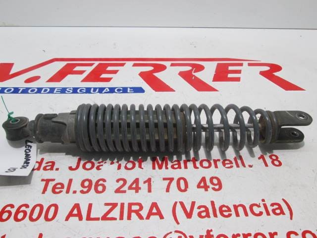 REAR SHOCK 2 scrapping APRILIA LEONARDO 150 1998