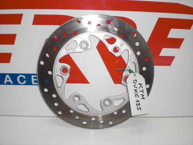 DISCO DE FRENO TRASERO de repuesto de una moto KTM DUKE 125 2011