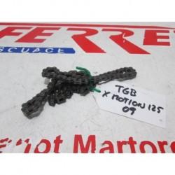 CADENA DISTRIBUCION de repuesto de una moto TGB X MOTION 125 2009