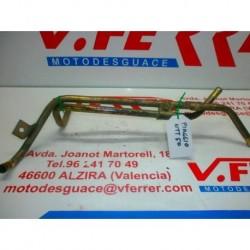 CONDUCTOS METALICOS REFRIGERANTE de repuesto de una moto PIAGGIO NTT 1996