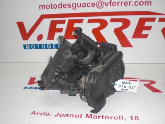 TAPAS REFRIGERACION CILINDRO de repuesto de una moto PIAGGIO VESPA ET4 125CC 2003