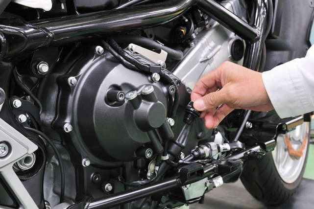 Revisión de fugas y escapes en la ITV para motocicletas