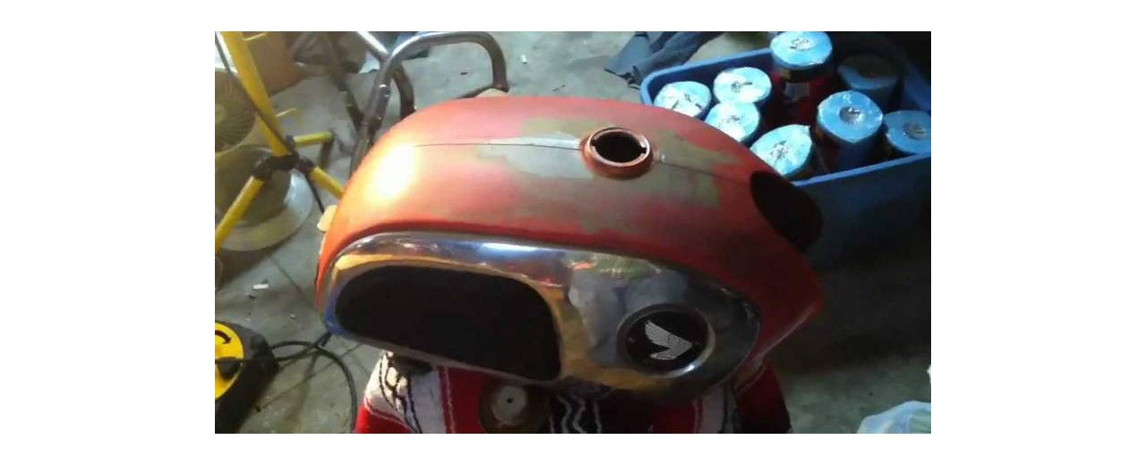 How to avoid rusting the fuel tank of your motorcycle